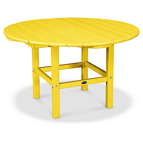 Kids' Dining Table, Lemon
