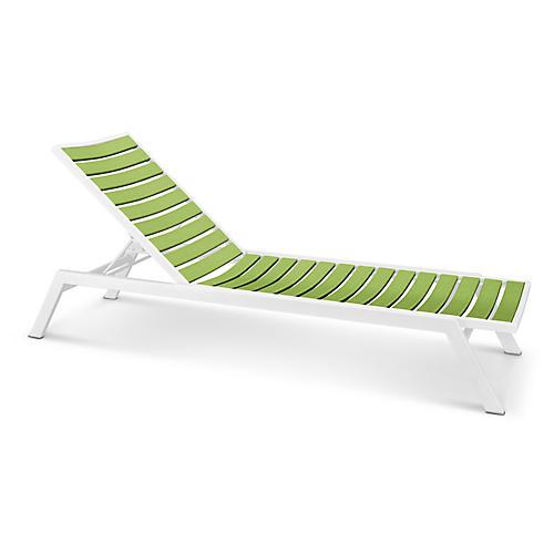Euro Chaise, Lime