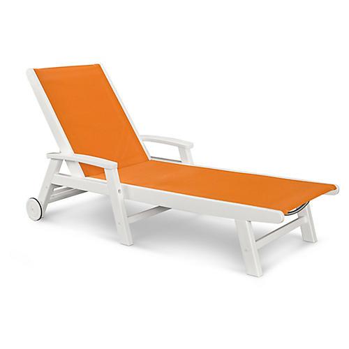 Coastal Chaise, Citrus