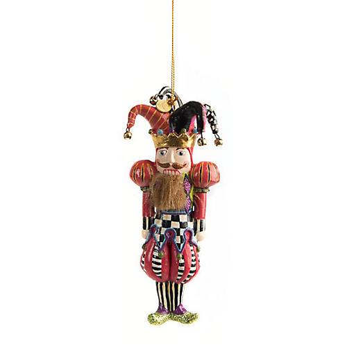 Jester Nutcracker Ornament, Multi