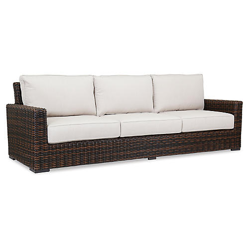 Montecito Sofa, Canvas Flax