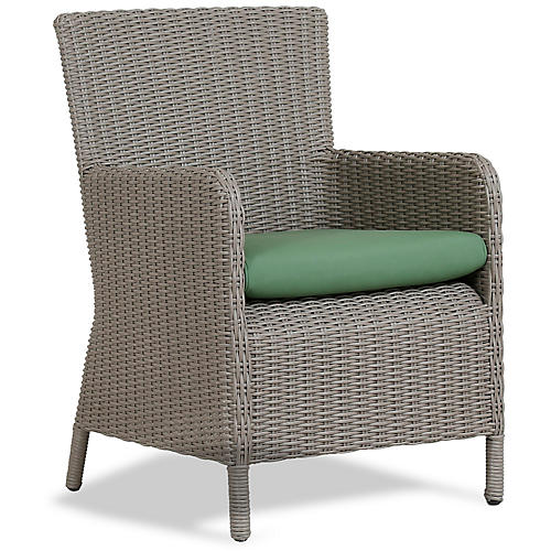 Manhattan Armchair, Green