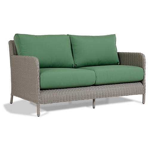 Manhattan Loveseat, Green