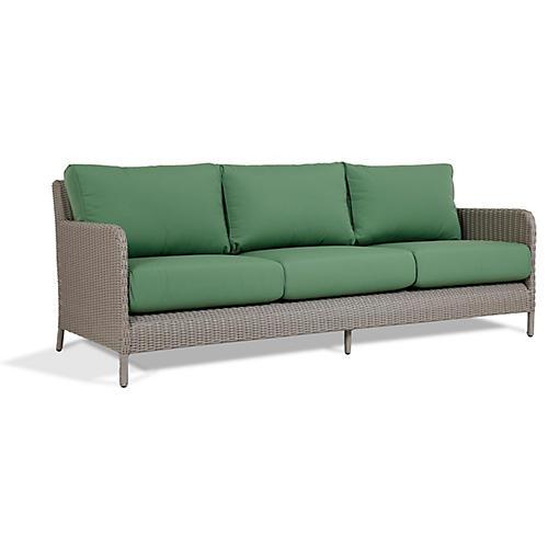 Manhattan Sofa, Green