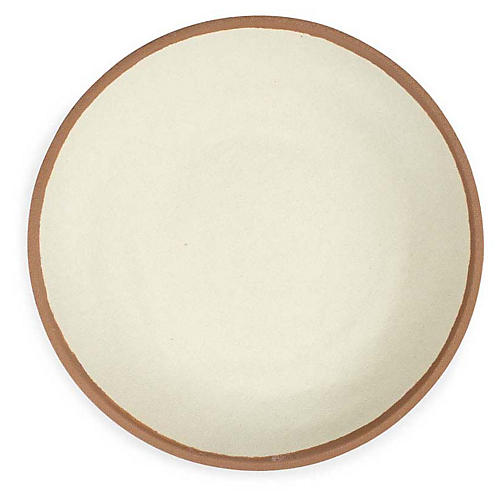 S/4 Potter Melamine Dinner Plates, Terracotta