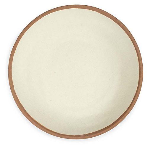 S/4 Potter Melamine Dinner Plates, Terracotta