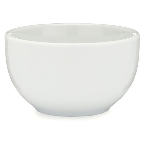 S/4 Diamond Melamine Bowls, White