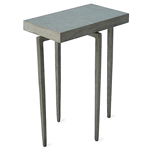 Laforge Side Table, Gray