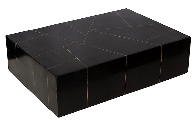 Hepburn Box, Black
