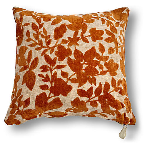 Prairie 20x20 Pillow, Earth Velvet