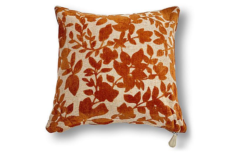 Prairie 20x20 Pillow, Earth Velvet
