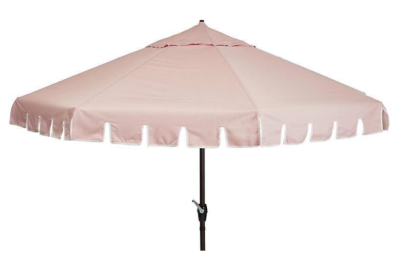 Poppy Patio Umbrella, Light Pink