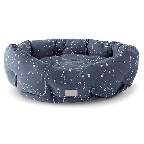 Celestial Cuddler Pet Bed, Blue