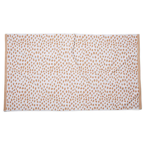 Leopard Beach Towel, Sand