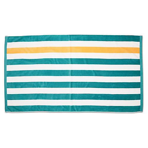 Montauk Beach Towel, Teal