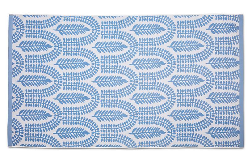 Delilah Beach Towel, Powder Blue