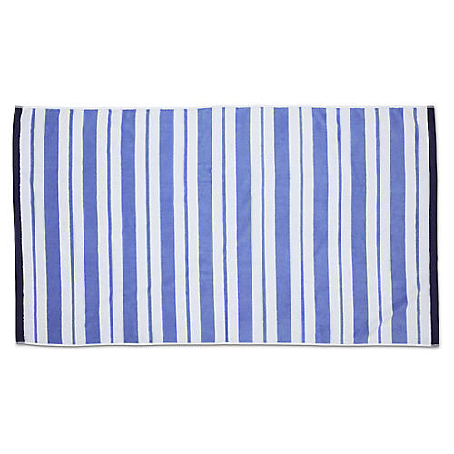Meadow Lane Beach Towel, Periwinkle