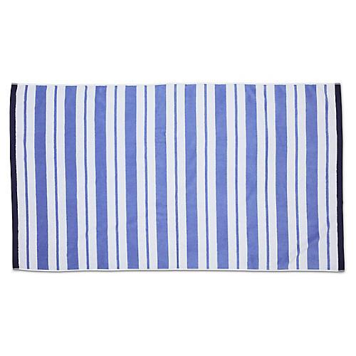 Meadow Lane Beach Towel, Periwinkle
