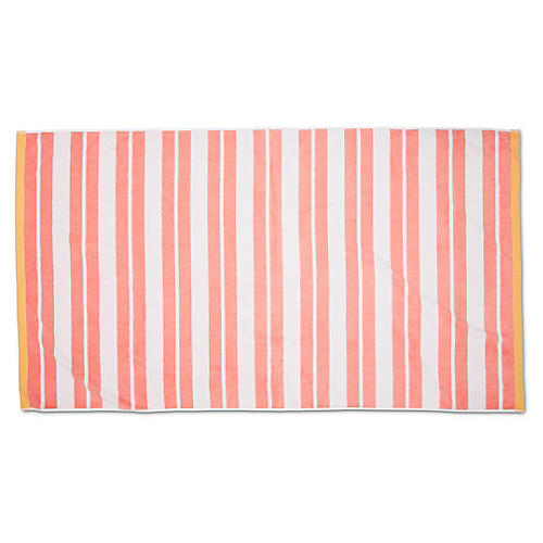 Meadow Lane Beach Towel, Blush