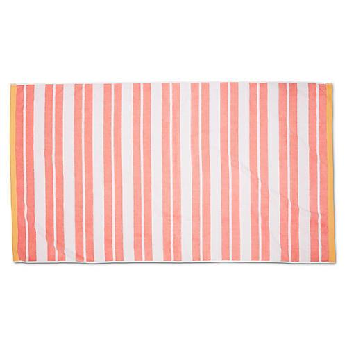 Meadow Lane Beach Towel, Blush