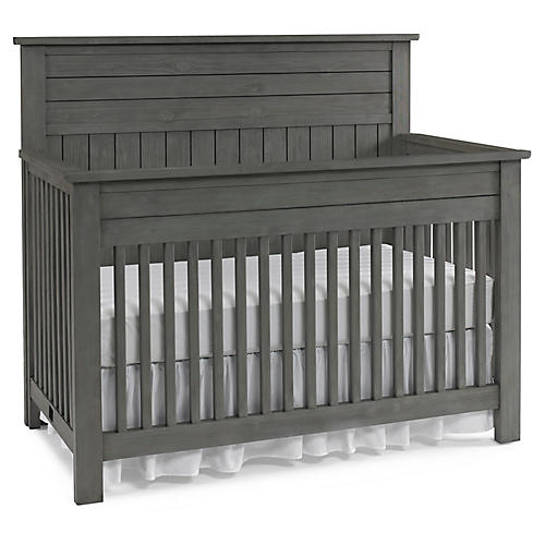 Channing Crib, Nantucket Gray