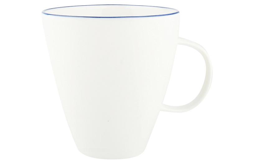 S/4 Abbesses Mugs, White/Blue