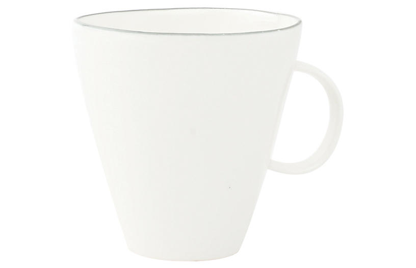 S/4 Abbesses Mugs, White/Gray