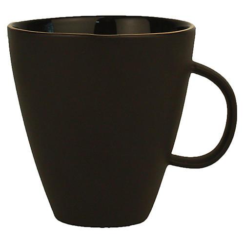 S/4 Abbesses Noir Mugs, Black/Gold