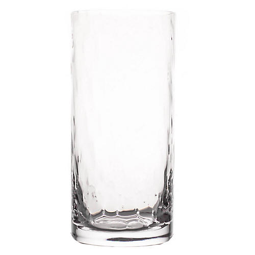 S/4 Portofino Highball Glasses, Clear