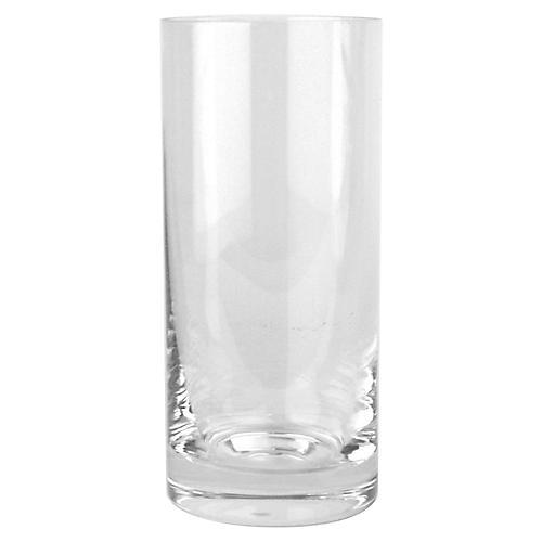 S/4 Fife Highball Glasses, Clear