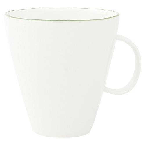 S/4 Abbesses Mugs, White/Green