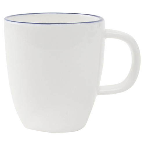 S/4 Abbesses Espresso Cups, White/Blue