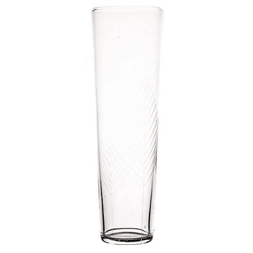 S/6 Siena Champagne Flutes, Clear