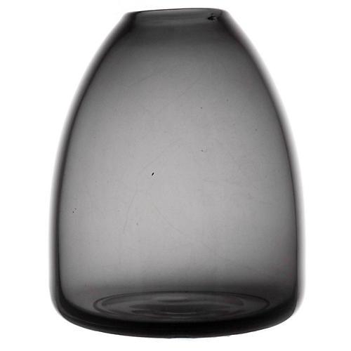 """5"""" Wren Small Vase, Smoke"""