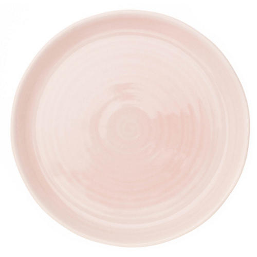 S/4 Pinch Salad Plates, Pink