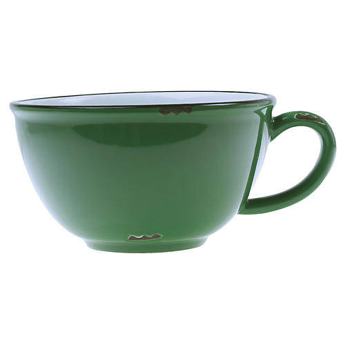 Tinware Latte Cup, Green