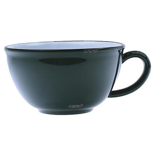 Tinware Latte Cup, Slate