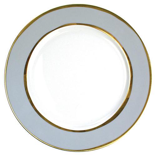 S/4 La Vienne Dinner Plates, Blue