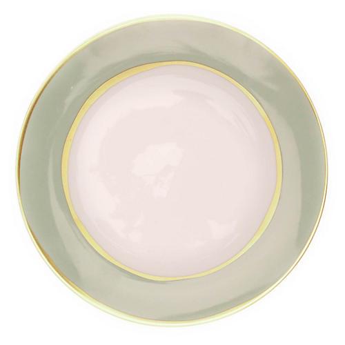 S/4 La Vienne Salad Plates, Celadon