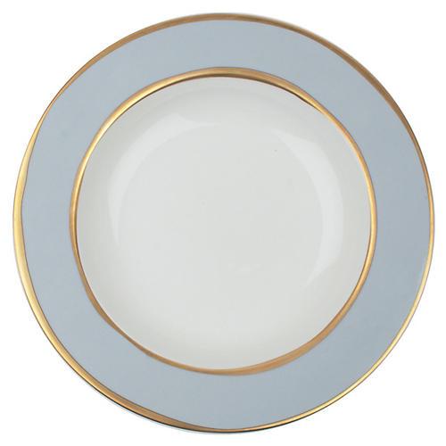 S/4 La Vienne Pasta Bowls, Blue