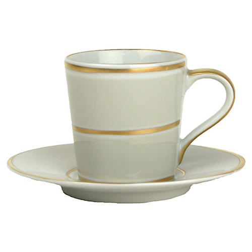 4-Pc La Vienne Espresso Set, Gray