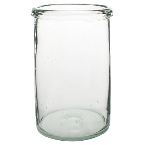 """12"""" Antoni Tall Vase, Clear"""