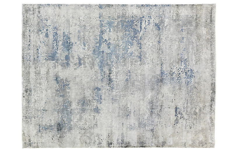 Forling Hand Knotted Rug Gray Exquisite Rugs Brands