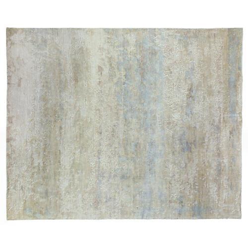 Widegood Hand-Knotted Rug, Blue