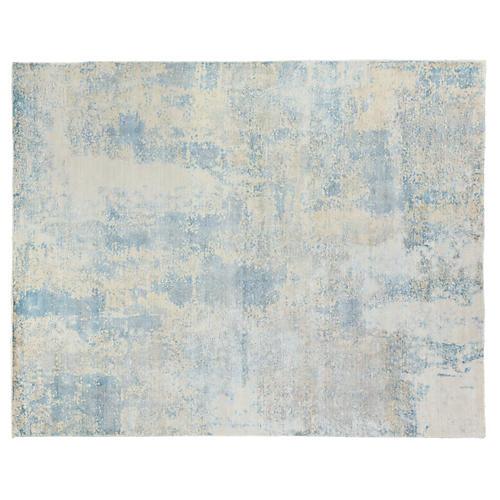 Sorento Hand-Knotted Rug, Blue