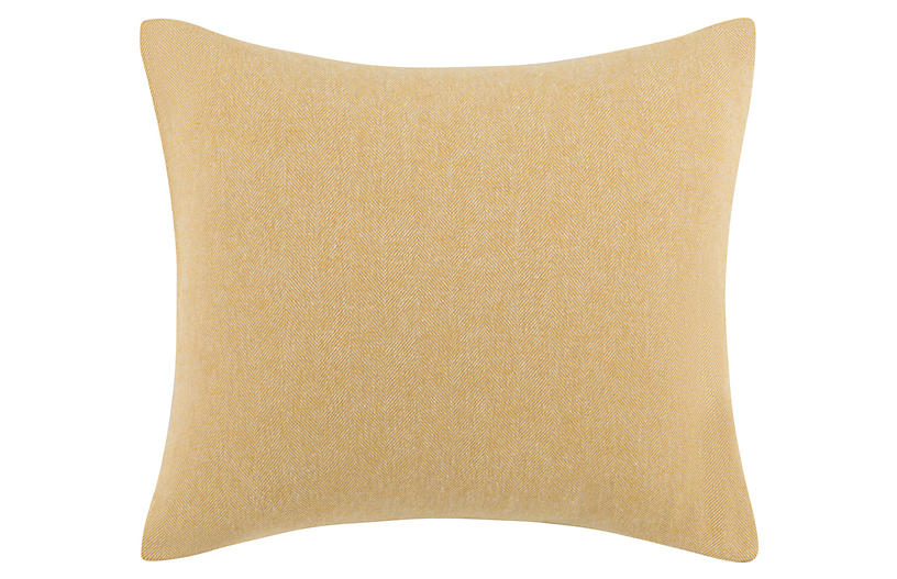 Herringbone 20x20 Pillow, Cider