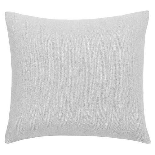 Herringbone Pillow, Light Gray