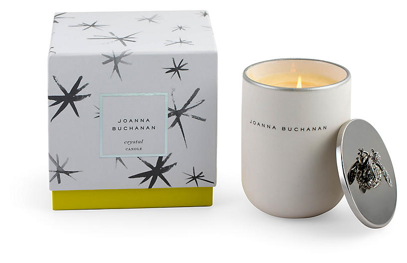 Crystal Candle, Floral Woods