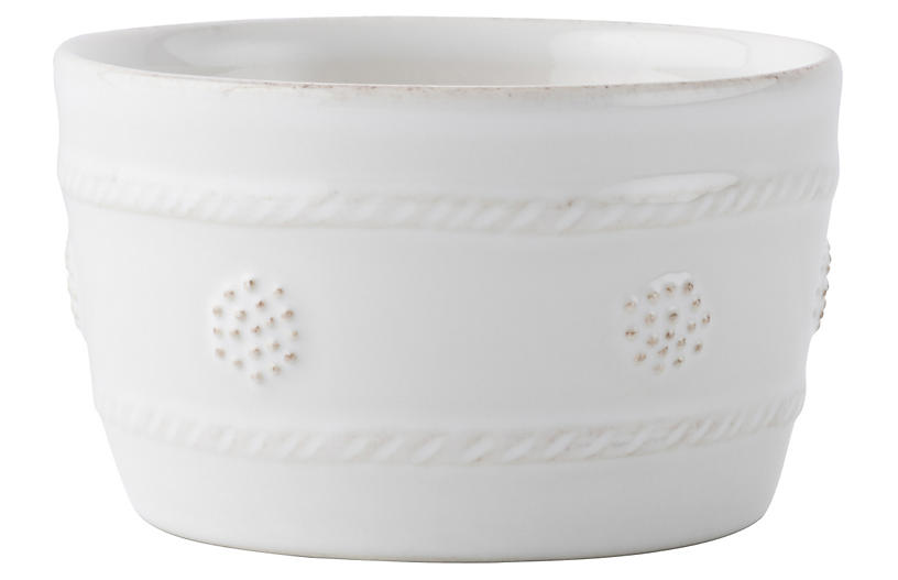 Berry & Thread Ramekin, White