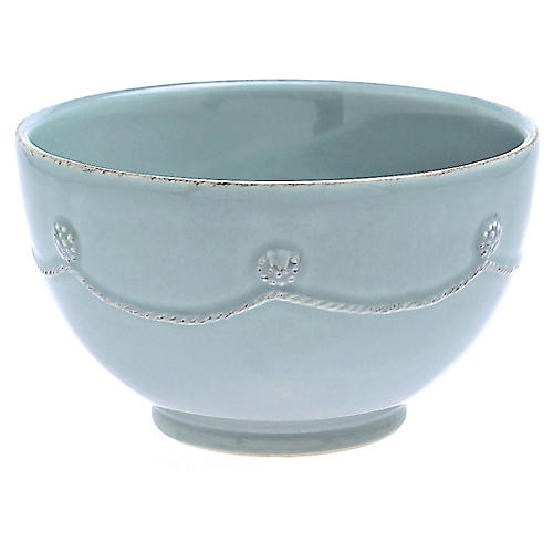 Berry & Thread Cereal Bowl, Ice Blue